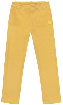 Acne Studios Kids Mini Face cotton-blend trackpants
