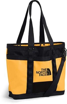 The North Face Explore Utility Tote (TNF Yellow/TNF Black) Handbags