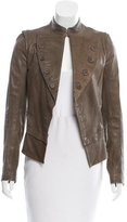Yigal Azrouel Fitted Leather Jacket
