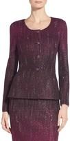St. John Kira Ombre Knit Jacket