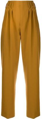 MAISON KITSUNÉ Pleated-Waist Straight-Leg Trousers