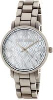 Steve Madden Women's Geometric Dial Alloy Bracelet Watch