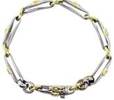 Platinum and 18K Yellow Gold Diamond Bracelet