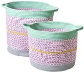 Rice Storage Baskets - Set of 2