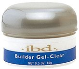 IBD UV Clear Builder Gel - 0.5oz / 14g