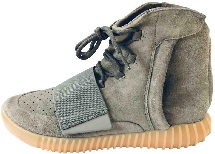 Yeezy X Adidas Boost 750 Grey Suede Trainers