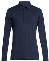 Orlebar Brown Linwood long-sleeved wool polo shirt