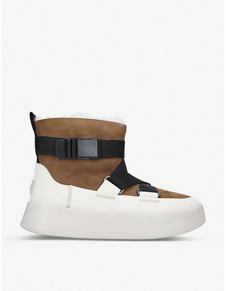 UGG Classic Boom Buckle sheepskin boots