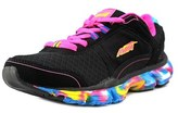Avia Play Youth Round Toe Synthetic Black Running Shoe.