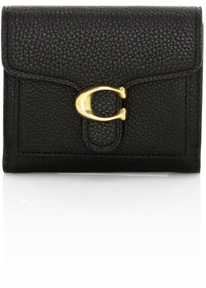 Coach Small Tabby Leather Wallet