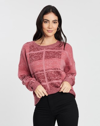 All About Eve Criss Cross Knit