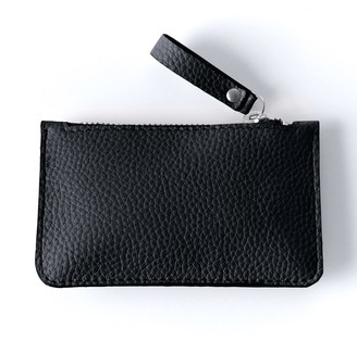Been London Wilton Way Coin Purse in Black Sand