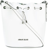 Armani Jeans drawstring bucket bag - women - Polyester/PVC - One Size