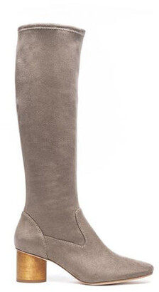 Bernardo Dea Knee High Boot Taupe