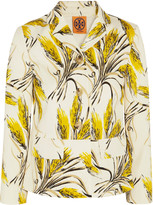Tory Burch Rimon printed cotton-blend jacket