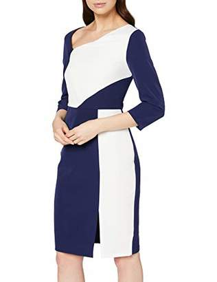 Paper Dolls PaperDolls Women's Two In One Bodycon With Belt Dress,(Size:)