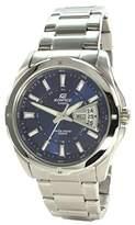 Edifice Casio Men's Analogue Quartz Watch with Stainless Steel Bracelet EF-129D-2AVEF