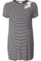 Dorothy Perkins Womens **Maternity Navy Puff Print T-Shirt