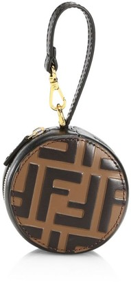 Fendi Tamburo Pocket Leather Charm