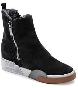 Dolce Vita Women's Zelma Zip High Top Sneaker Booties