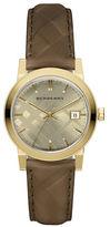Burberry Goldtone Quartz Stainless Steel Watch