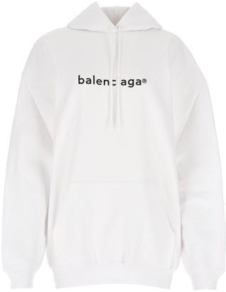 Balenciaga New Copyright Logo Print Hoodie
