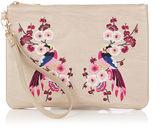 Oasis Kimono Embroidered Clutch