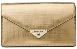 Michael Kors Michael Grace Leather Clutch
