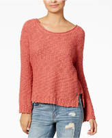 Roxy Juniors' Open-Back Sweater