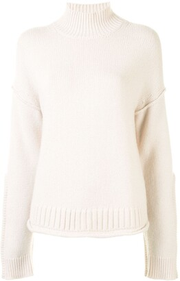 Proenza Schouler White Label Raised Ribbed Detail Jumper