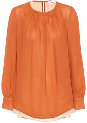 Max Mara Gettata silk blouse