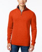 Tommy Hilfiger French Rib Quarter-Zip Sweater