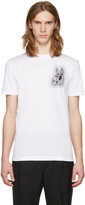 McQ by Alexander McQueen White Bunny Be Here Now T-Shirt