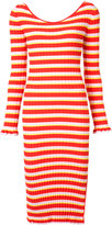 Altuzarra striped dress - women - Polyester/Viscose - XS