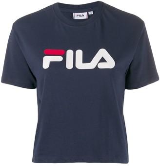 Fila contrast logo T-shirt
