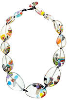 Jackie Brazil Riverstone Cascade Necklace, Multi