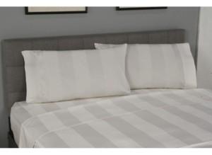 Spectrum Home True Stuff Mega Stripe Queen Flat Sheet Bedding
