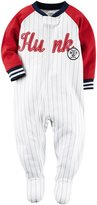 Carter's MVP Footie (Toddler) - Stripe - 2T