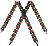 Buy Your Ties Mens Welsh Flag Suspender Made in USA