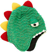John Lewis Children's Dinosaur Trapper Hat, Green