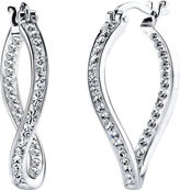 JCPenney CRYSTAL SOPHISTICATION Crystal Sophistication Crystal-Accent Twist Earrings
