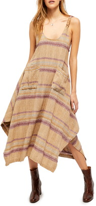 Free People Harper Striped Maxi Dress