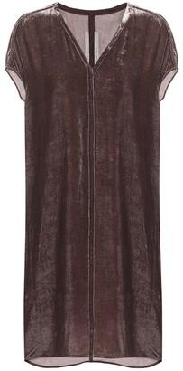 Rick Owens Velvet dress