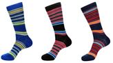 Jared Lang Stripe Socks (3 PK)