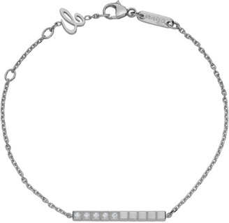 Chopard White Gold and Diamond Ice Cube Pure Bracelet