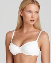BECCA® by Rebecca Virtue Meringue Underwire Bra Bikini Top