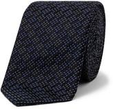 Emporio Armani Top Stitch Stripe Tie