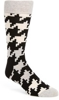 Happy Socks Men's Digital Houndstooth Socks