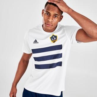 Adidas Team Men's adidas LA Galaxy Pitch T-Shirt