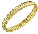 Chimento 18K Yellow Gold Armillas Collection Ridge Curve Bracelet